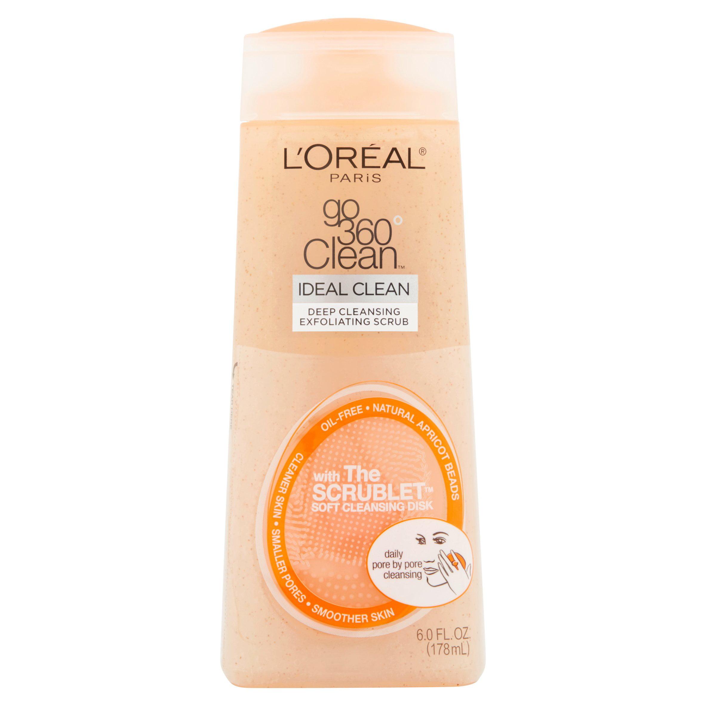 L'Oreal Paris Go 360 Clean Deep Exfoliating Scrub, 6 oz