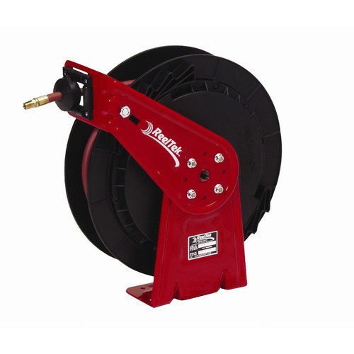 Reelcraft 0.5'' x 35', 300 psi, General Industrial Air / Water Reel with Hose