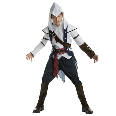 Boy Teen Assassin's Creed Connor Small Halloween Dress Up / Role Play (Assassin's Creed 3 Connor Costume)