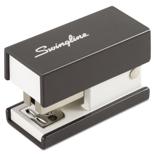 Swingline Mini Fashion Stapler, 12-Sheet Capacity, Black