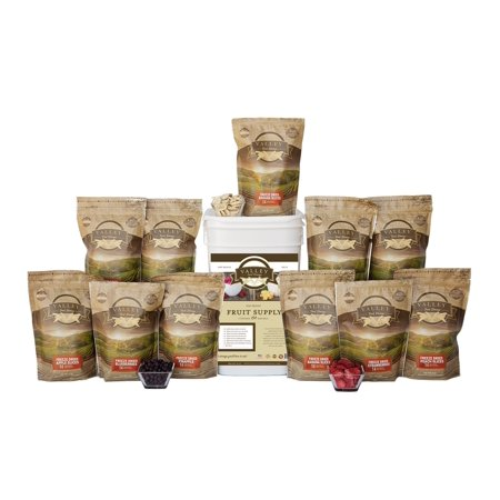 Freeze Dried Vegetable Food Supply - Vegetable Bucket - Valley Food Storage - Emergency Food, great for cooking or snacking!