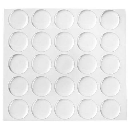 Beadaholique 100-Piece Epoxy Stickers for Bottle Cap Pendants. 1-Inch. - Epoxy Stickers