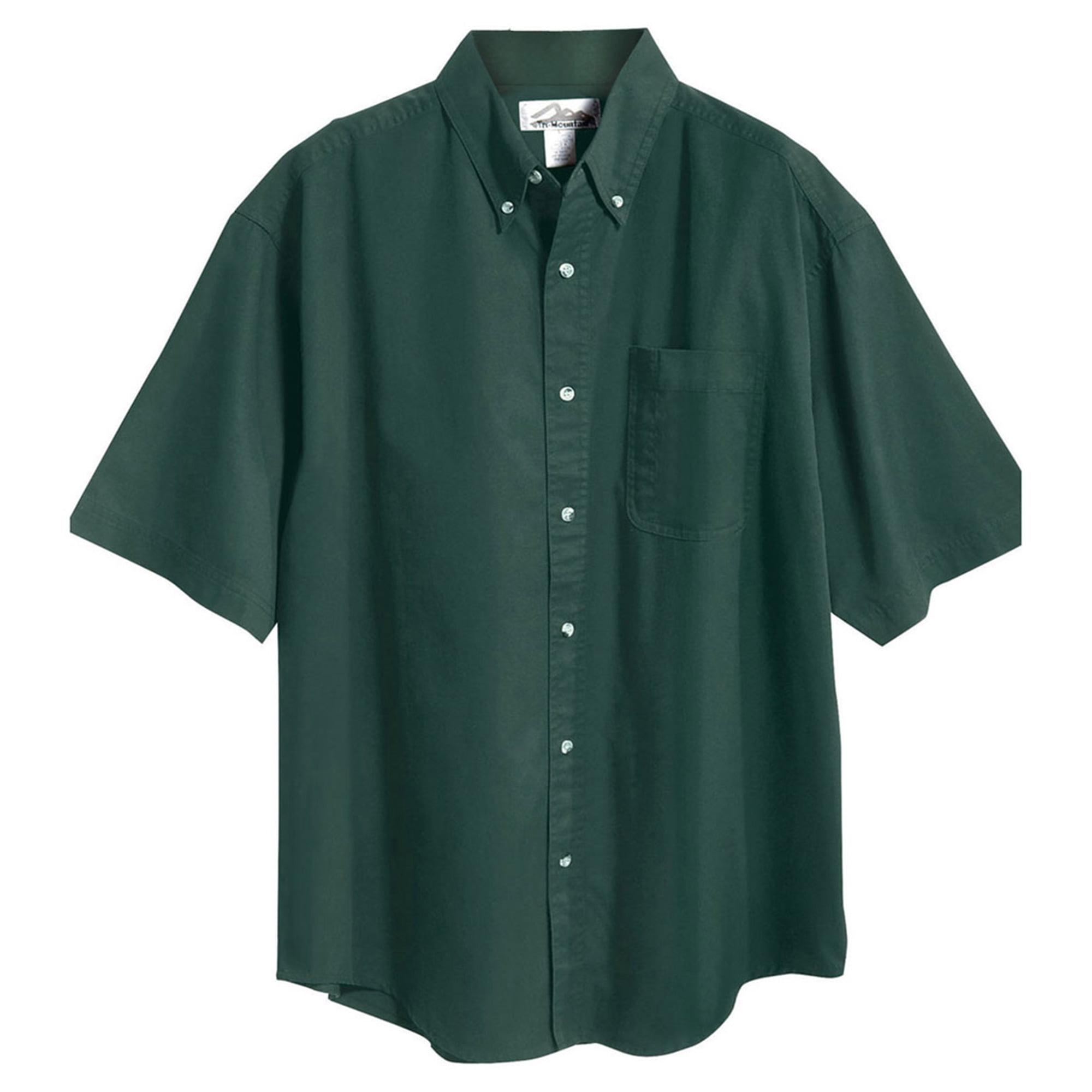 Tri-Mountain Men's Big And Tall Button Down Twill Shirt