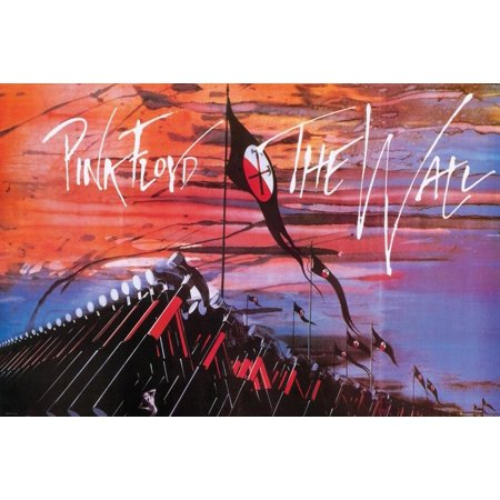 - The Wall Hammers Poster 36 x 24in..., By Pink Floyd Ship from US