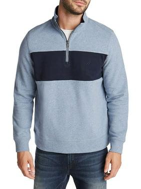 Colorblock Cotton-Blend Fleece Sweatshirt