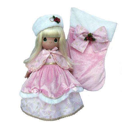 Precious Moments Dolls by The Doll Maker, Linda Rick, A Christmas to Remember, Stocking Doll, 16 inch doll