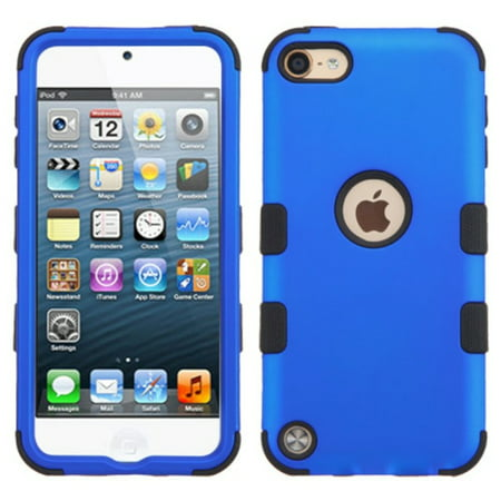 iPod Touch 6th Generation Case, iPod Touch 5th Generation Case, by Insten Tuff Hard Dual Layer Hybrid Case For Apple iPod Touch 6th 5th Gen case (Ipod Touch Screen Cover)