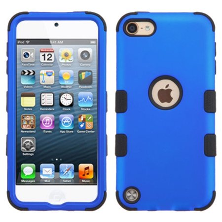 iPod Touch 6th Generation Case, iPod Touch 5th Generation Case, by Insten Tuff Hard Dual Layer Hybrid Case For Apple iPod Touch 6th 5th Gen case cover (Ipod 5 6th Generation Cases)