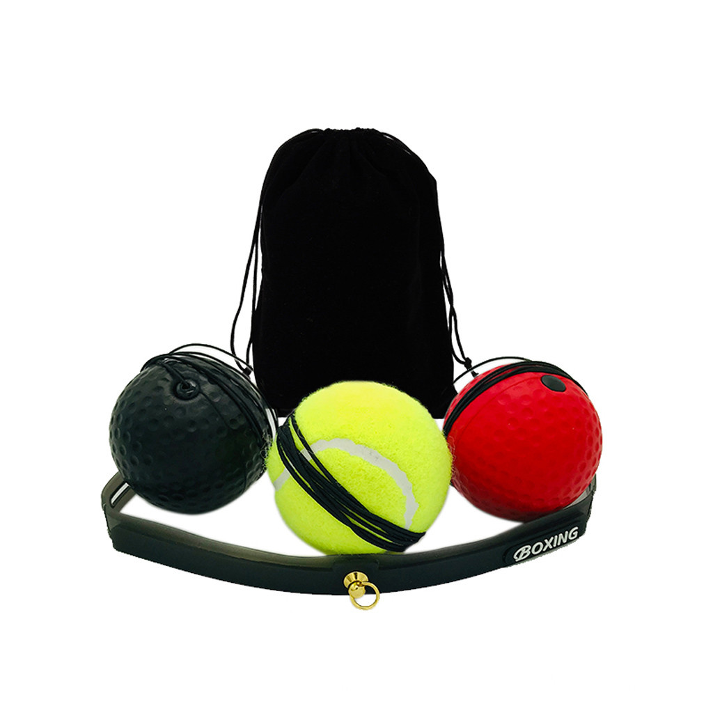 New Fight Ball With Head Band For Boxing Reflex Speed Training Punch Exercise