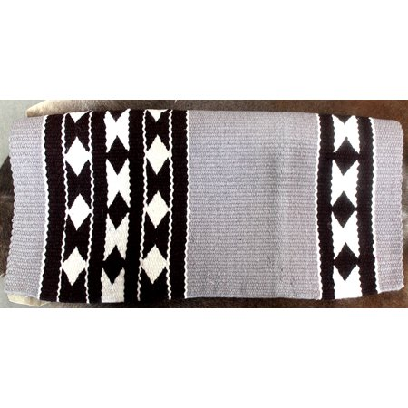34x36 Horse Wool Western Show Trail SADDLE BLANKET Rodeo Pad Rug 36S429