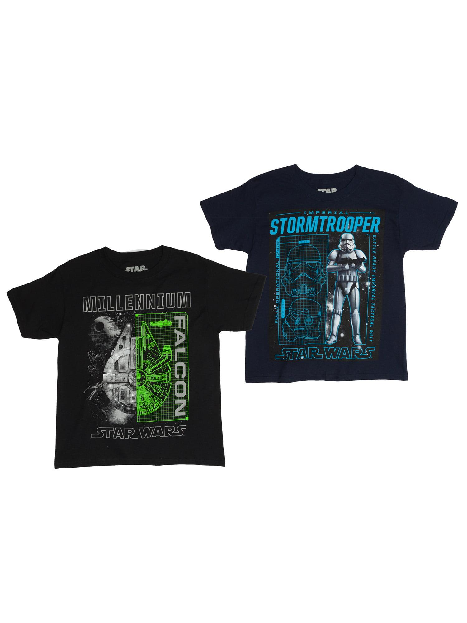 Assorted Two Pack Short Sleeve T-Shirt Bundle (Little Boys & Big Boys)