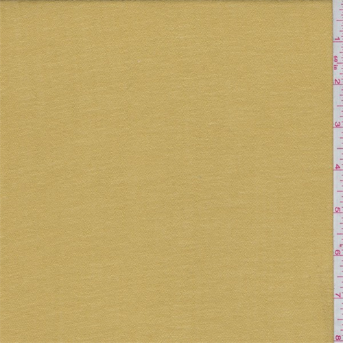 Harvest Gold Polyester Gauze, Fabric By the Yard
