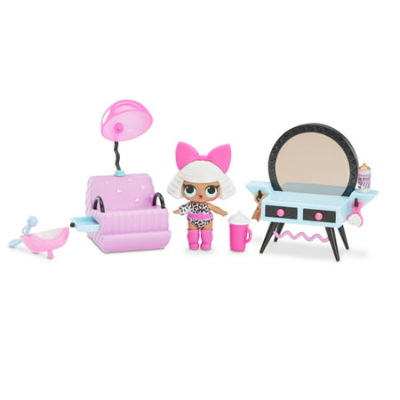 L.O.L. Surprise! Furniture Salon Playset with Diva Doll & 10+ Surprises