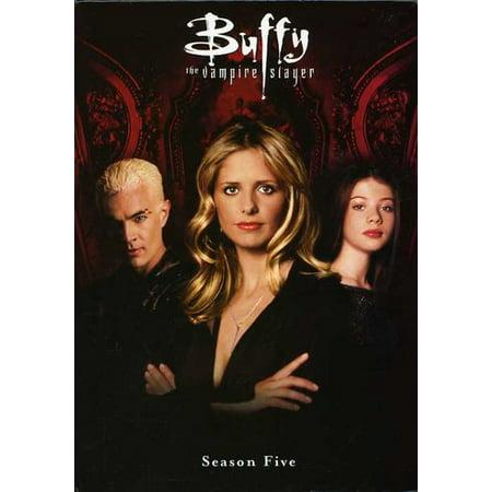Buffy The Vampire Slayer Season 5 Dvd Walmart