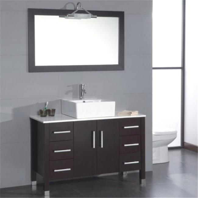 Cambridge Plumbing 8116 48 In. Bathroom Vanity Set