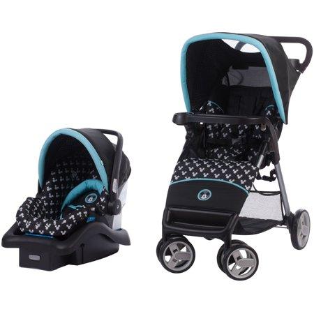 Disney Baby Simple Fold LX Travel System, Mickey Shadow ()