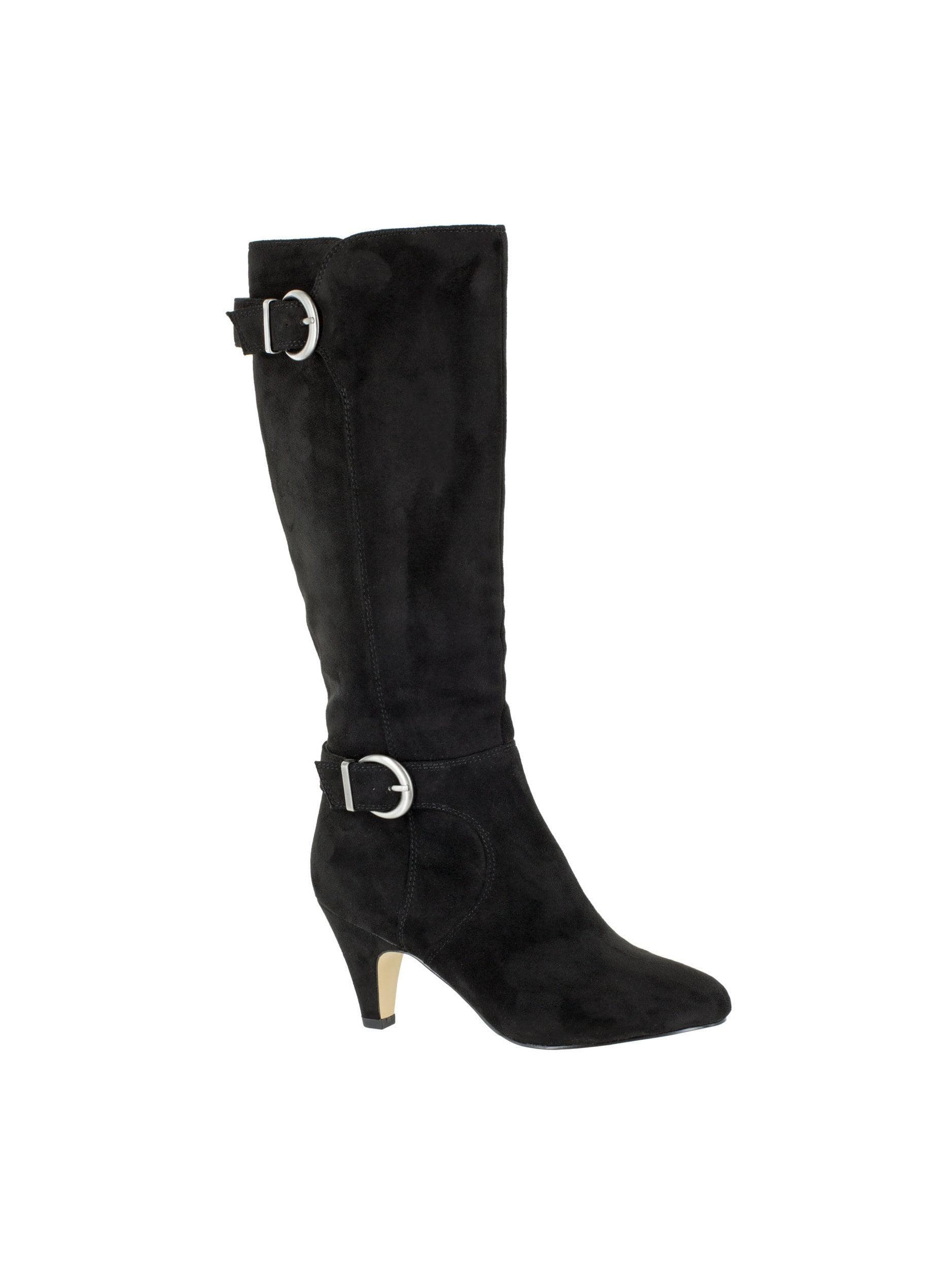 Bella Vita  Women's Toni II Black Suede Tall Boots