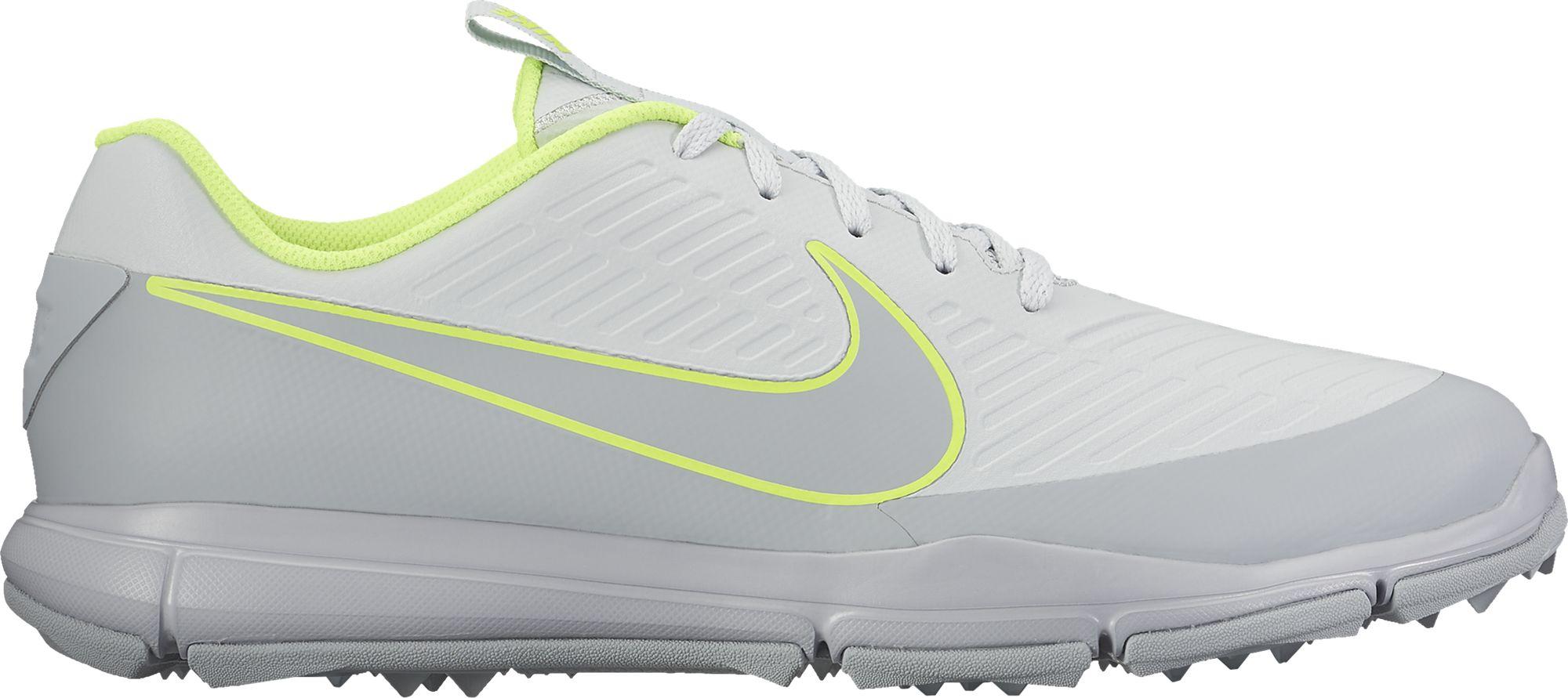 Nike 2017 Explorer 2 Golf Shoes (Pure Platinum)