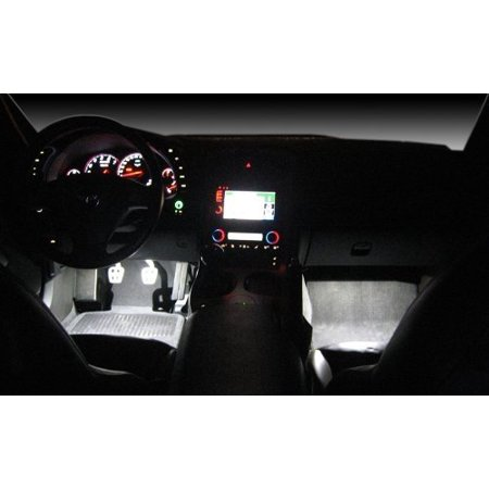 Corvette Footwell White LED Lighting Kit : C6,Z06 GS and (Bruck Lighting Jas Led)