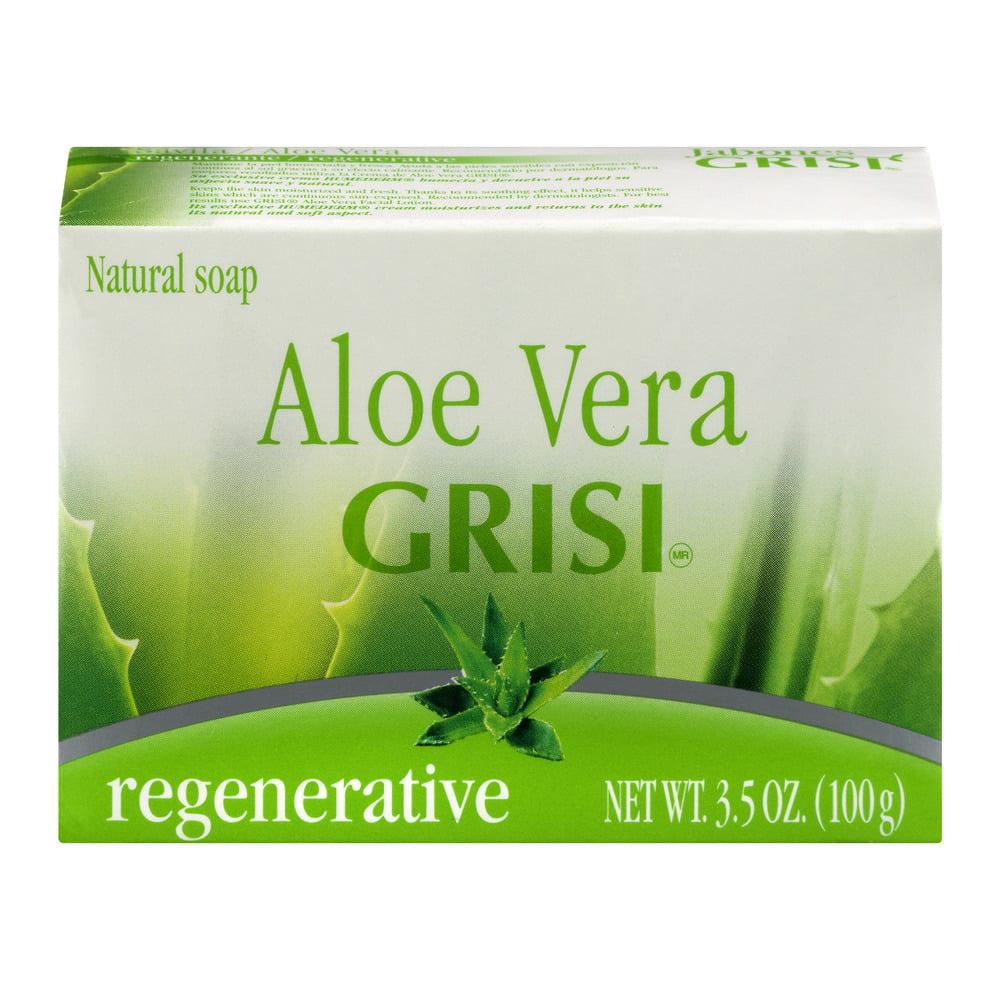 Grisi Soap - Savila Aloe Vera 3.5 Oz