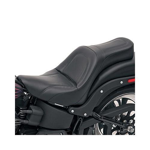 Saddlemen King Seat Fits 00-07 Harley-Davidson Softail Deuce FXSTD