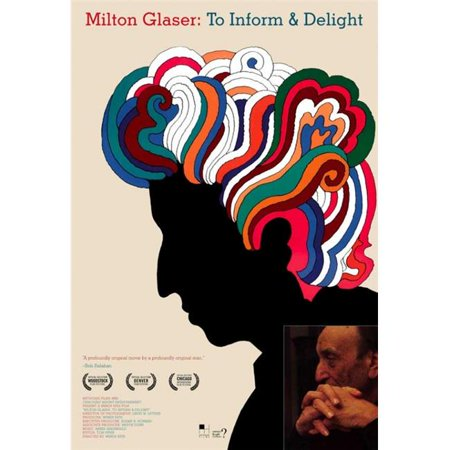 Pop Culture Graphics MOVAJ7777 Milton Glaser - To Inform & Delight Movie Poster Print, 27 x 40 - image 1 de 1