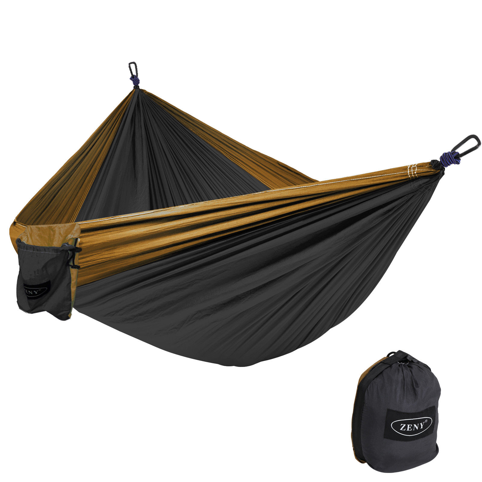 Friendly Portable High Strength Parachute Fabric Camping Hammock Hanging Bed With Mosquito Net Sleeping Hammock Fragrant In Flavor