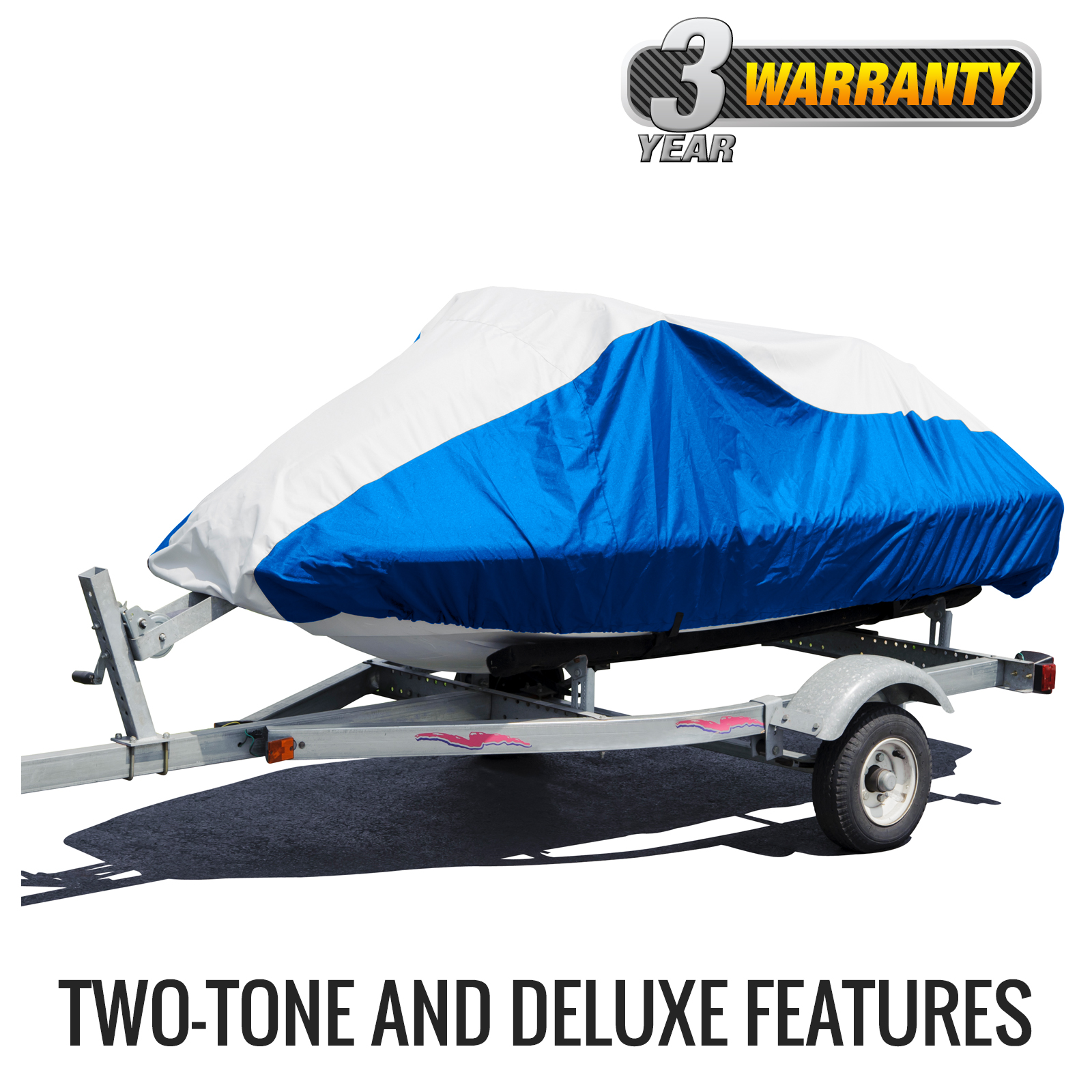 "Budge Deluxe 2 Stroke Jet Ski Cover, Size PW-1: 106"" to 115"" 2-Stroke by Budge Industries"