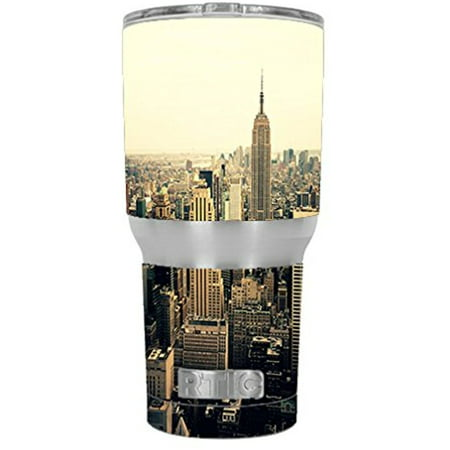 Skin Decal Vinyl Wrap For Rtic 30 Oz Tumbler Cup Stickers Skins Cover  6 Piece Kit    New York City2