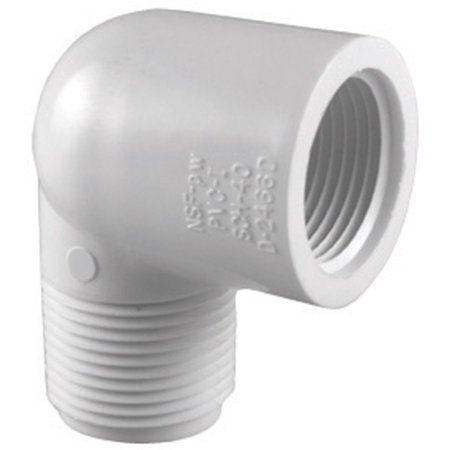 Curved 90 Pipe (Charlotte Pipe Street Elbow 3/4