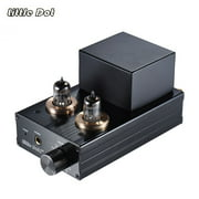 Little Dot I+ Vacuum Transistor Tube Headphone Amplifier HiFi Stereo Amp Preamplifier with RCA Cable 3.5mm to 6.35mm Adapter