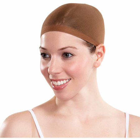 Wig Cap Adult Halloween Costume Accessory (Brown Hair Wig Halloween)