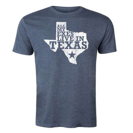 All My Exes Live In Texas Vintage Country Music-Mens (All My Exes Live In Texas Shirt)