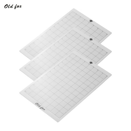 OLD FOX Replacement Cutting Mat Transparent Adhesive Mat with Measuring Grid 8 by 12-Inch for Silhouette Cameo Cricut Explore Plotter Machine, 1pcs - image 7 de 7