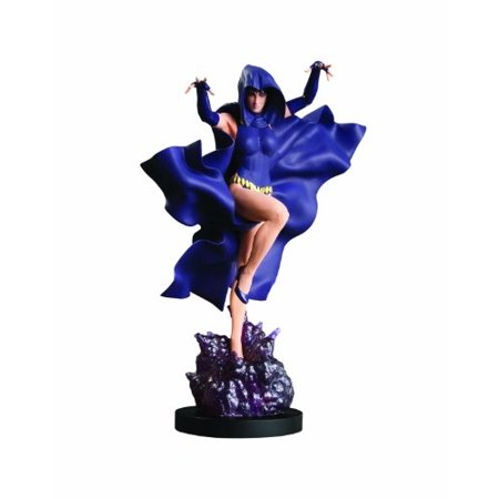 dc direct cover girls of the dc universe: raven statue - Raven Bar Dc