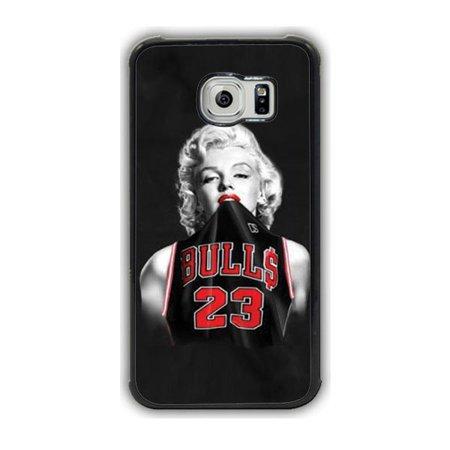 2754a1e99d156a Marilyn Monroe Michael Jordan Jersey Galaxy S7 Edge Case - Walmart.com