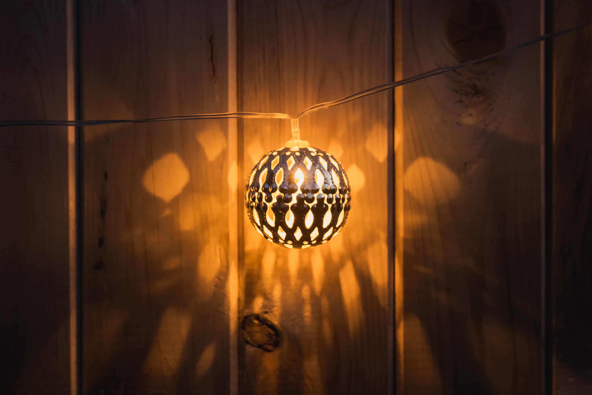 CRYSTALITE Globe Solar String Lights by New Product Solutions