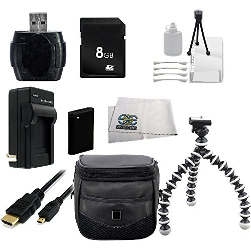 Essential Accessory Kit For Sony Cyber-Shot DSC-HX90V DSC...