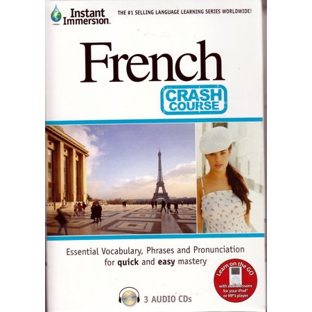 Crash Course French: Learn how to Speak French Language Beginner (3 Audio CDs) listen in your (Best French Audio Learning)