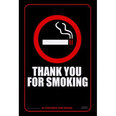 Thank You for Smoking (2006) 27x40 Movie - Thank You Movie