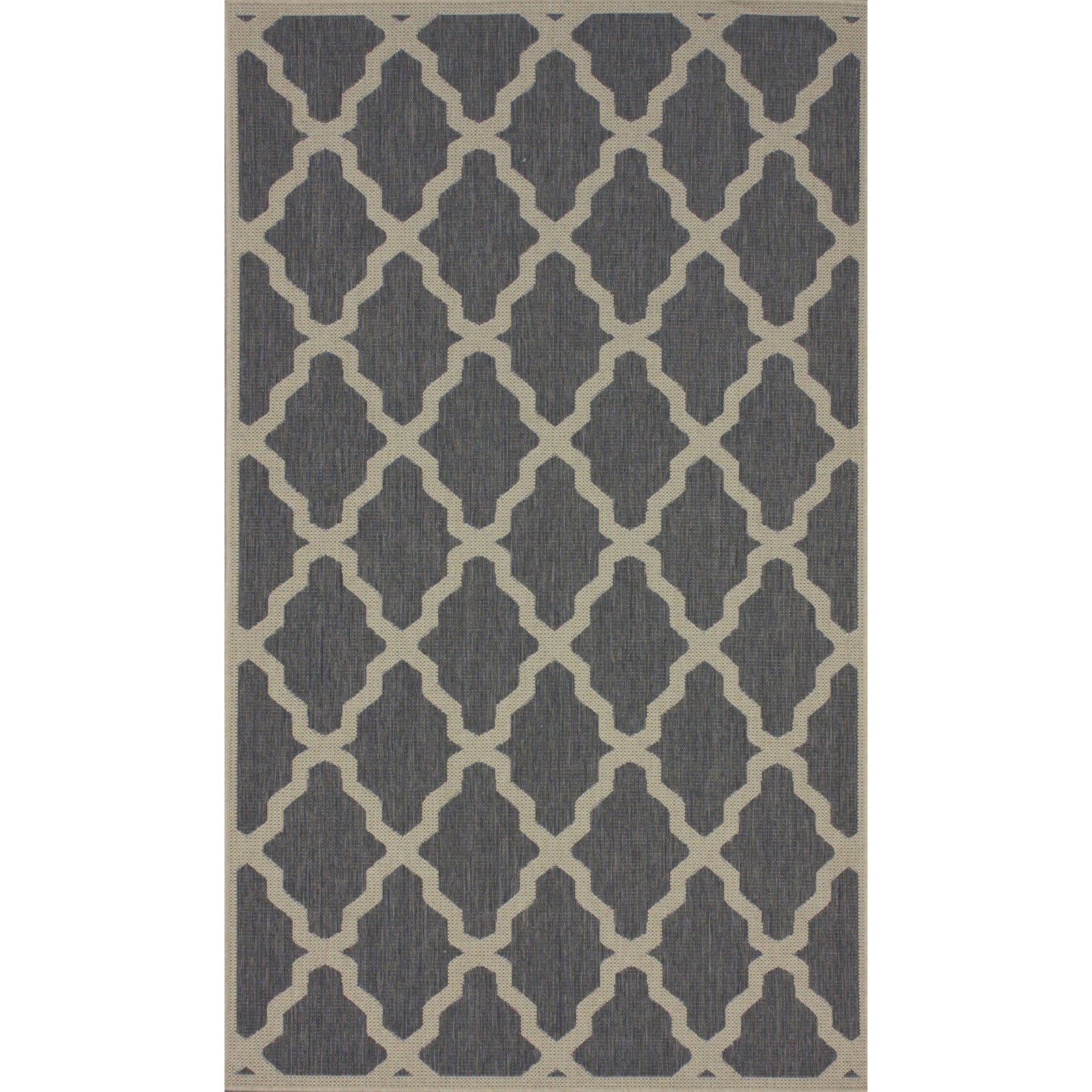 nuLOOM Machine-Made Gina Outdoor Moroccan Trellis Area Rug
