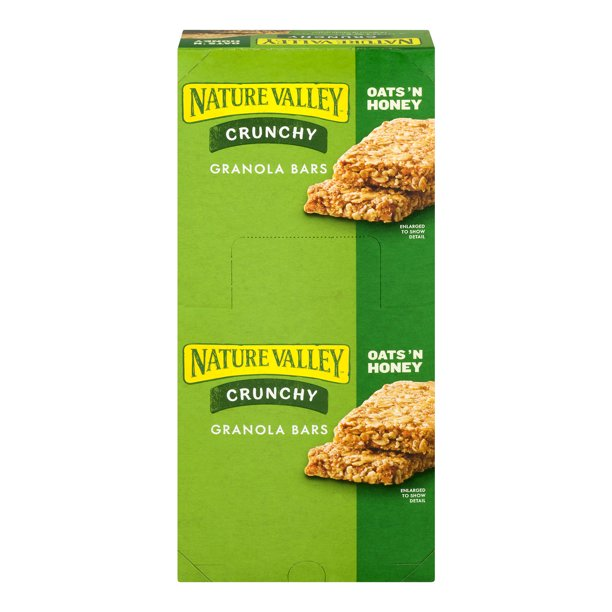 Nature Valley Oats 'N Honey Crunchy Granola Bars, 26.82 oz ...