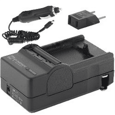 Nikon 1 J4 Digital Camera Battery Charger (with Car & EU adapters) - Replacement Charger for Nikon EN-EL20 and EN-EL22 (1 Digital Camera Battery Charger)