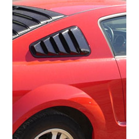 Astra/Hammond 10570 Window Louver  Side Window; Smooth; Paintable; ABS Plastic - image 1 of 1