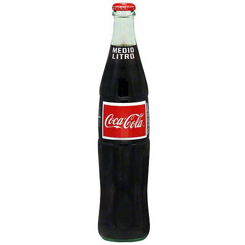 Coca-Cola Classic Mexican Coca Cola Soda, 16.9 oz (Pack of 24)