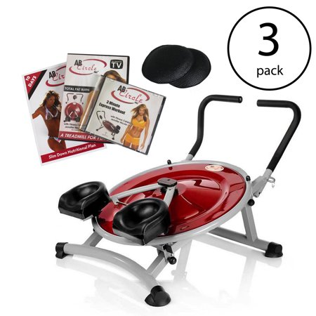 AB Circle Pro Abs And Core Home Gym Exercise Fitness Machine & DVD (3 (Ab Circle Pro Calories Burned Per Minute)