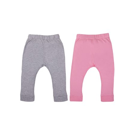- Organic Cotton Knit Jogger Pants, 2-pack (Baby Girls)