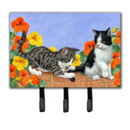 Kittens on Wall Leash or Key Holder ASA2201TH68 Walk Leash Holder