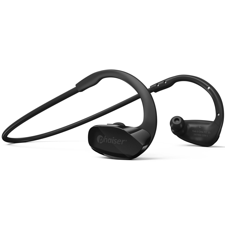 Phaiser BHS-530 Wireless Bluetooth Headset, Sport Headphones/Earbuds