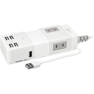 Mace UNISTRIP POWER STRIP WITH 4PORT USB PORTABLE